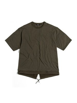 FISHTAIL T-SHIRT / OLIVE