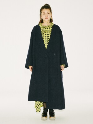 Miss Grace Coat [NAVY]