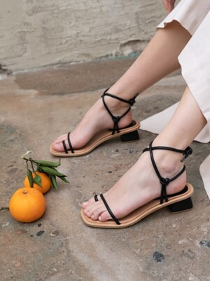SIMPLE ROPE SANDAL C9S05BK