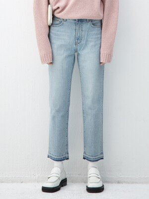 LIGHTBLUE tapered jean(KB102)