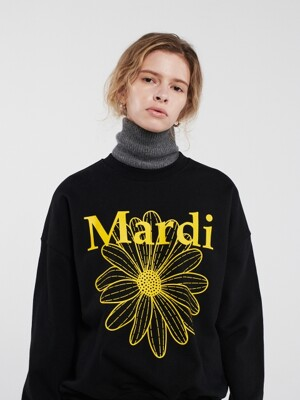 THE FLOWER MARDI  BLACK