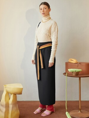 Conna Pencil Skirt_Black