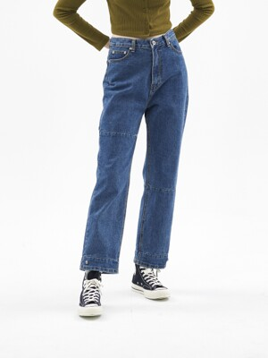 SLDB SNAP DENIM [MID BLUE]