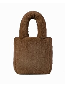Teddy Fur Tote Bag_3Color