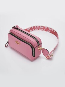 PANINI metal logo solid bag (Pink)