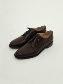 PLAIN TOE DERBY (버건디)
